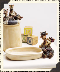 Noah Jar and Soapdish $15.95 each