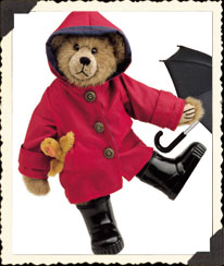 Noah with Puddles and Umbrella $39.99