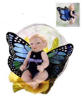 Butterfly Love Bubble is 3 inches tall